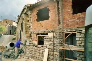 Treballs de restauració de façana (1998 )